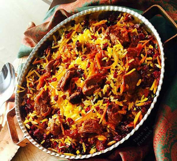 دستور پخت غذا  , طرز تهیه قیمه نثار قزوینی / قیمه نساء