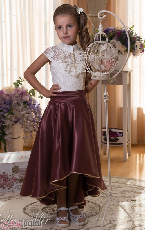 مدل لباس مجلسی بچه گانه , لباس مجلسی دخترانه