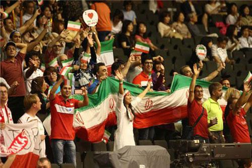 عکس: جشن صعود والیبالی ها به المپیک