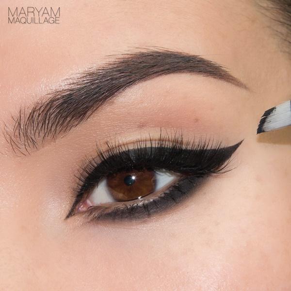 آموزش آرایش چشم, خط چشم