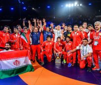 تیم کشتی آزاد ایران برای هفتمین بار قهرمان جهان شد