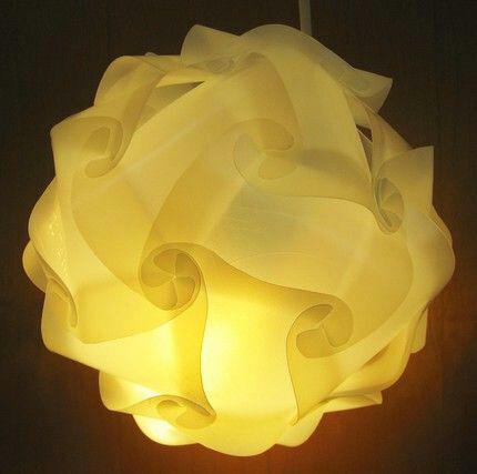 ساخت حباب لامپ تزیینی, حباب لامپ مقوایی