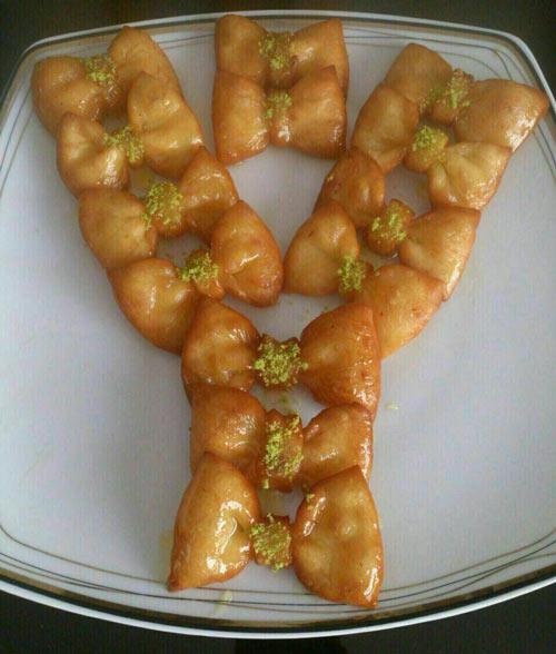 خاگینه پاپیونی , دسر ماه رمضان