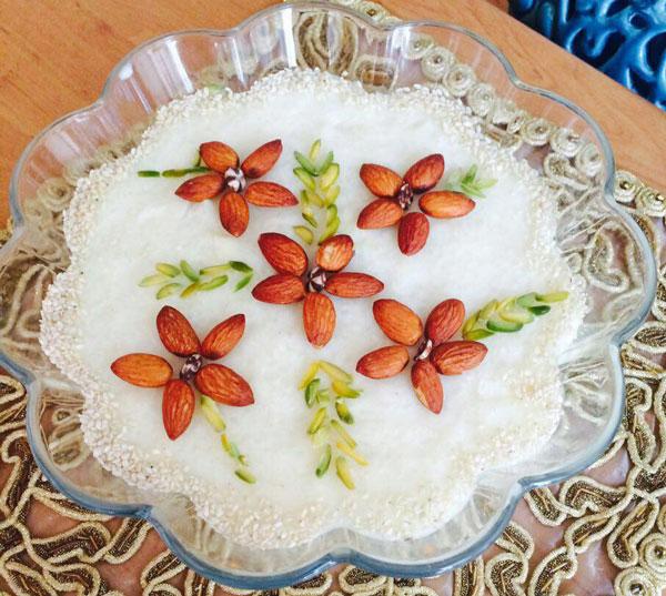 شیر برنج برای 20 نفر Güneş Lekelerine Pirinçli Kür
