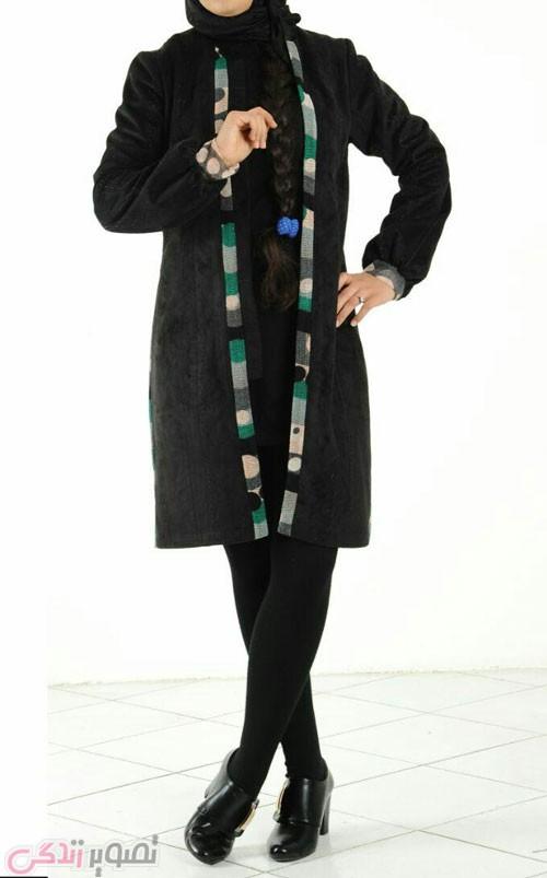 عکس مدل مانتو زنانه,مدل مانتو مشکی,مدل مانتو جدید