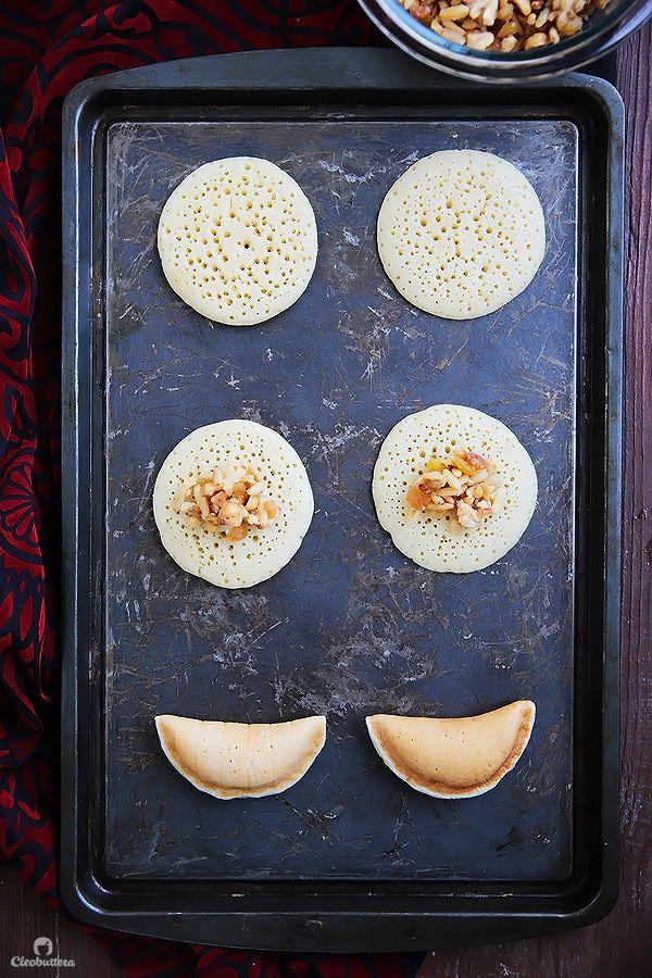 نان، شیرینی، دسر  , کتایف کلاسیک پرشده با آجیل ویژه ماه رمضان