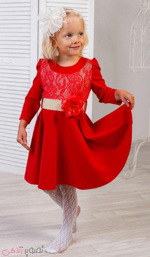 پیراهن دخترانه , لباس مجلسی دختر بچه