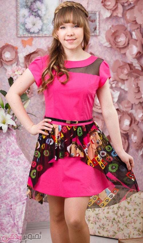 لباس بچگانه  , لباس مجلسی دخترانه 2016 برند azzarti