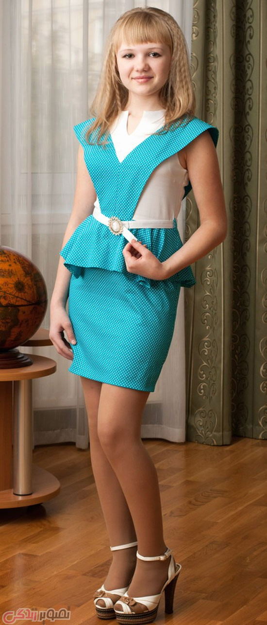 مدل لباس بچه گانه جدید, لباس مجلسی دختر نوجوان