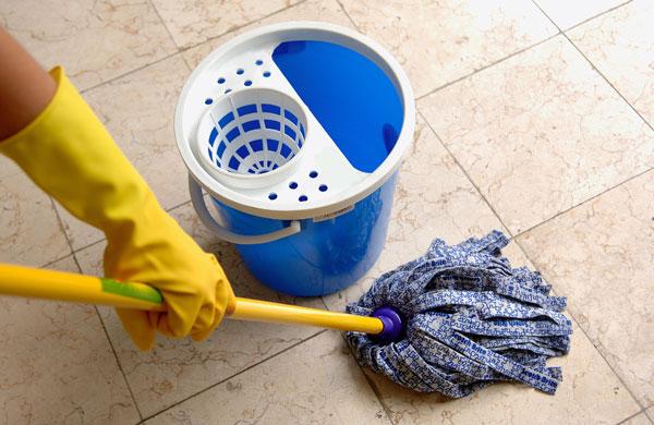تمیز کردن کاشی و سرامیک , جرم گیری کاشی