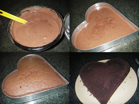 کیک شکلاتی با سس شکلاتی