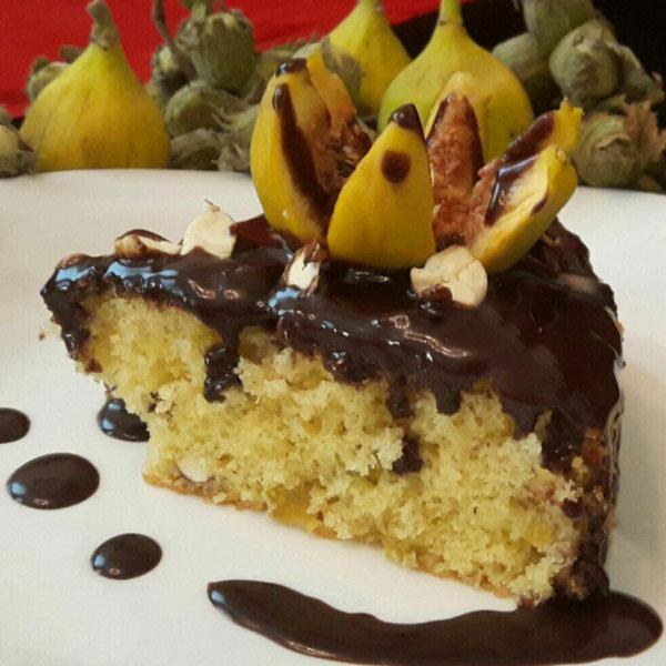 کیک فندق و انجیر, پخت انواع کیک