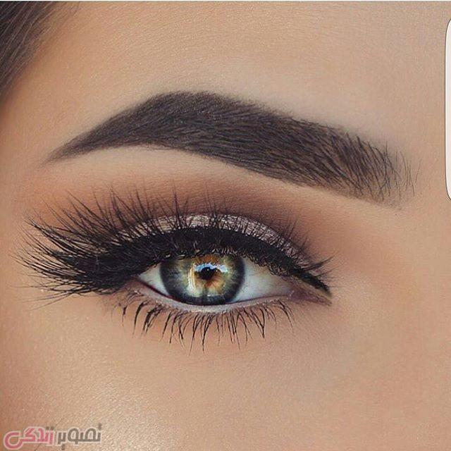 آرایش چشم عروس, میکاپ چشم 95