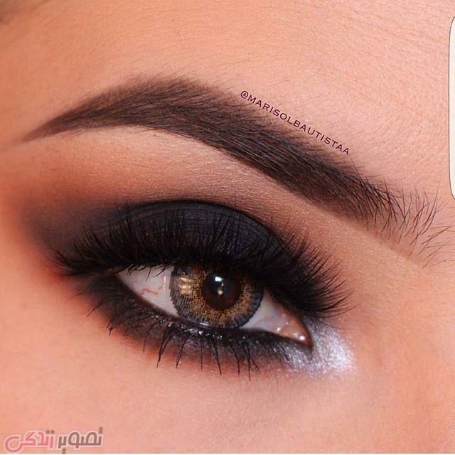 آرایش چشم قهوه ای, سایه زدن چشم