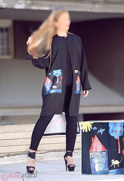 مانتو کوتاه دخترانه, مدل مانتو 2016