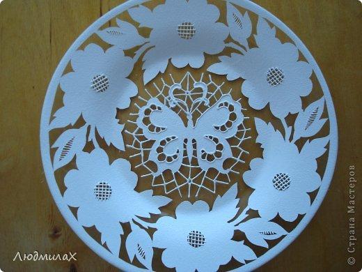 آموزش هنر ریشلو, تزیین بشقاب