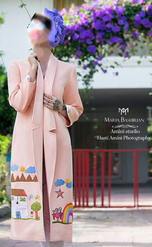 مدل مانتو مجلسی 95, مانتو شیک زنانه