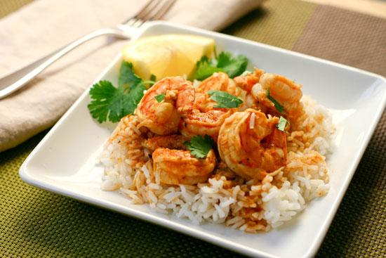 دستور پخت غذا  , طرز تهیه میگو پلو مجلسی با میگوهای ریز ارزان