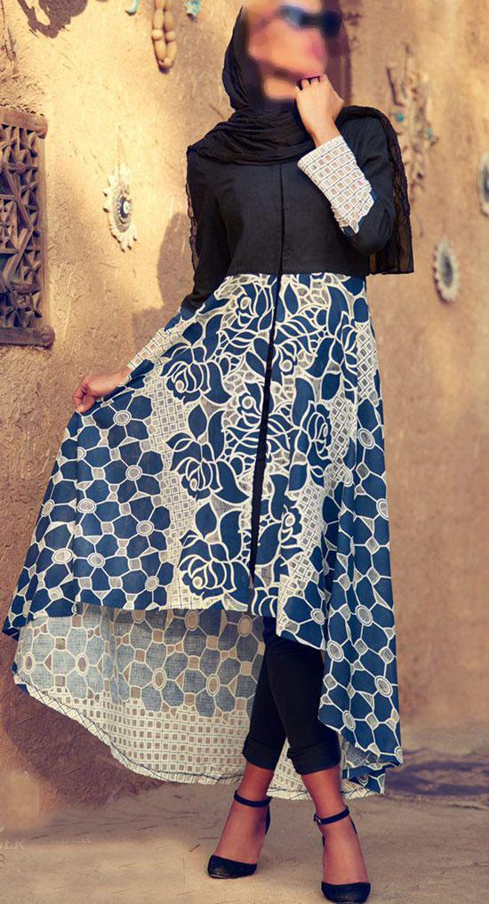 سایر مدل های مانتو  , عکس مدل مانتو زنانه 95 | مدل مانتو مجلسی والر