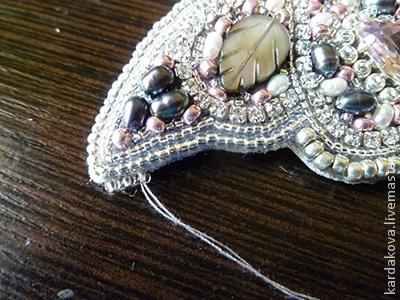 ساخت سنجاق سینه پروانه,جواهر دوزی,ساخت زیورآلات