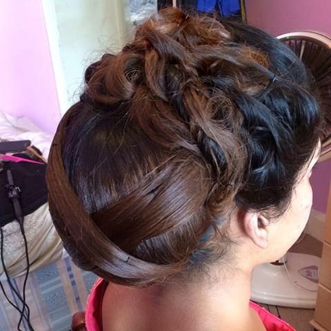 شینیون عروس, مدل موی عروس,آرایش موی مجلسی
