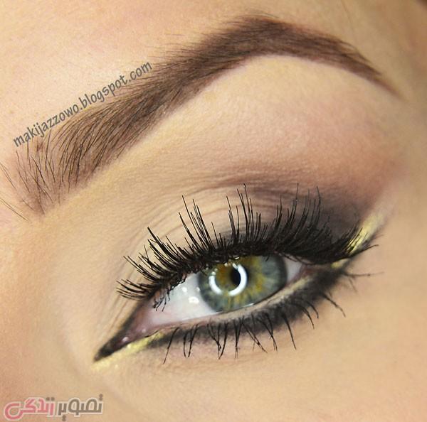 آرایش چشم, میکاپ چشم, خط چشم, سایه زدن