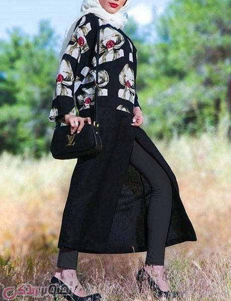 مدل مانتو تابستانی 2016, مانتو جلو باز 95