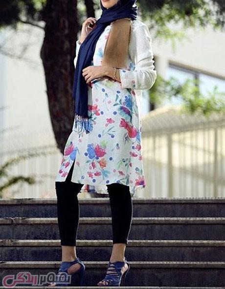 مدل مانتو جلو باز دخترانه , مانتو تابستانی 2016