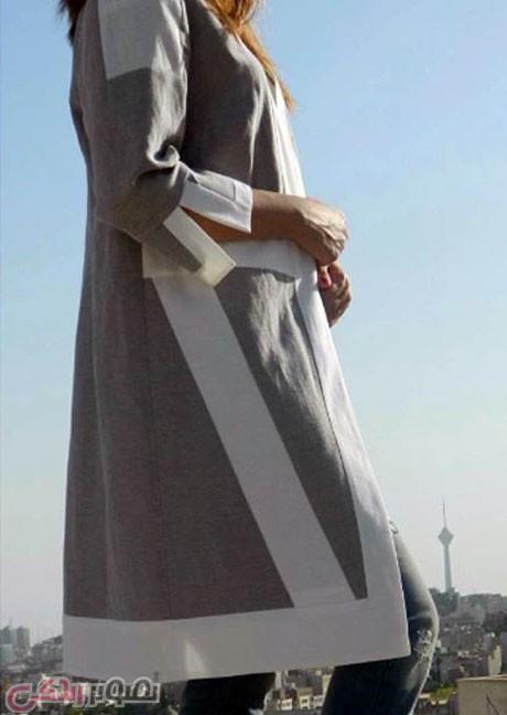 مدل مانتو جلو باز دخترانه