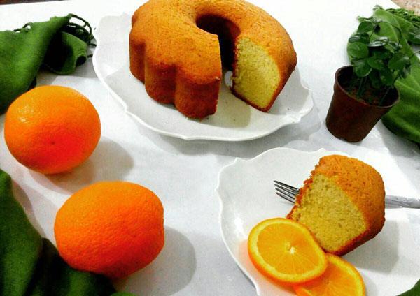نان، شیرینی، دسر  , طرز تهیه کیک گریدر / کیک با آب پرتقال