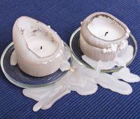 پاک کردن لک شمع, از بین بردن لکه شمع