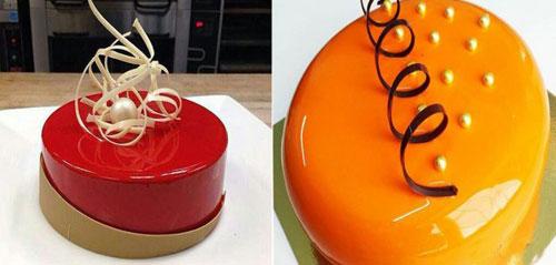 طرز تهیه کیک براق, سس فرانسوی
