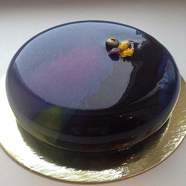 کیک مرمری,کیک های براق, مدل تزیین کیک