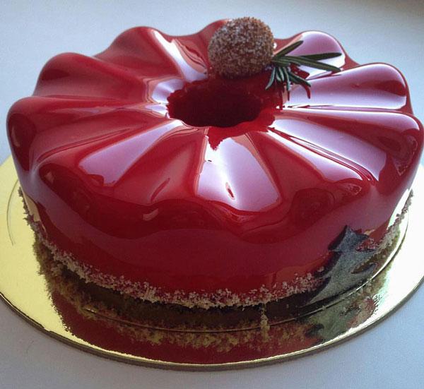 کیک های براق, مدل تزیین کیک