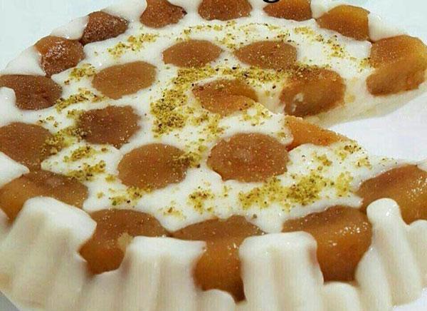 کیک فرنی و حلوا