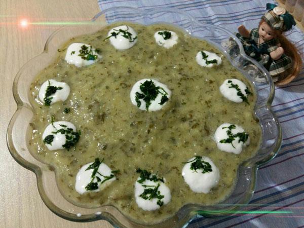 انواع غذاها  , طرز تهیه سوپ کدو سبز تند یک پیش غذای خوشمزه