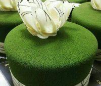 سس مخملی, تزیین کیک, کیک مخملی