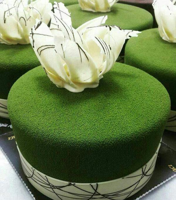 سس مخملی ,کیک مخملی ,تزیین کیک