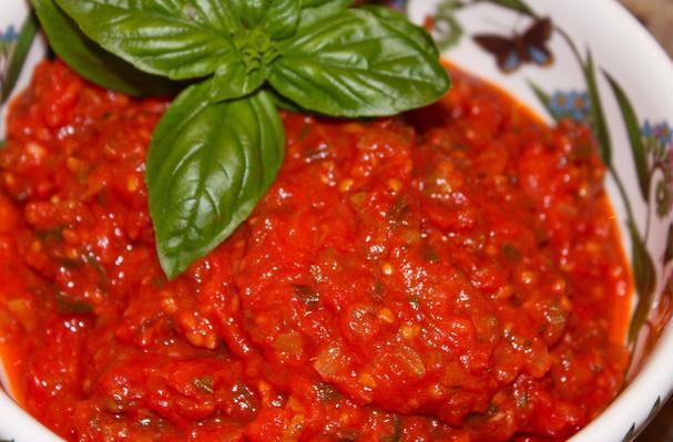 سس مارینارا ایتالیایی, سس گوجه فرنگی