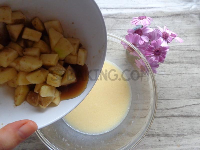 طرز تهیه مافین سیب
