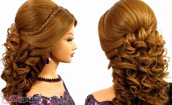 آرایش موی بلند, شینیون موهای بلند