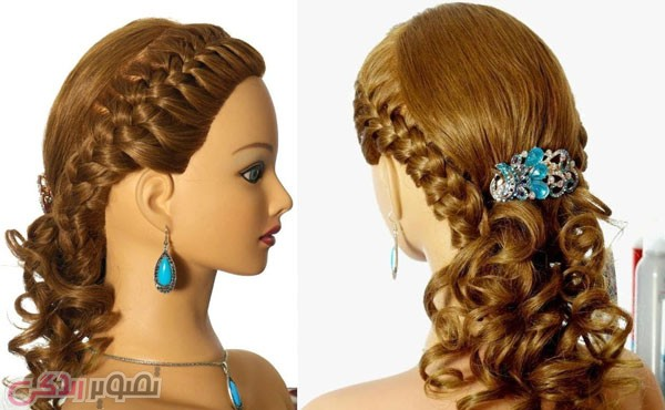 مدل موی عروس, شینیون موی جدید