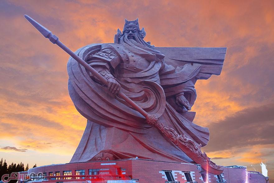 مجسمه گوآن یو,مجسمه خدای جنگ,دیدنی های چین