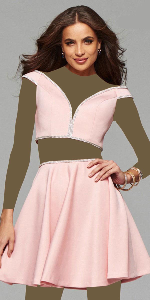 مدل لباس مجلسی کوتاه دخترانه, لباس عصر