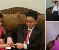 عقد دختر 5 ساله با پسر 8 ساله مصری