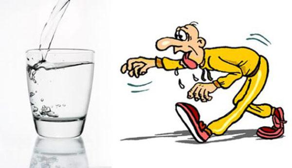 عوارض کم آبی بدن