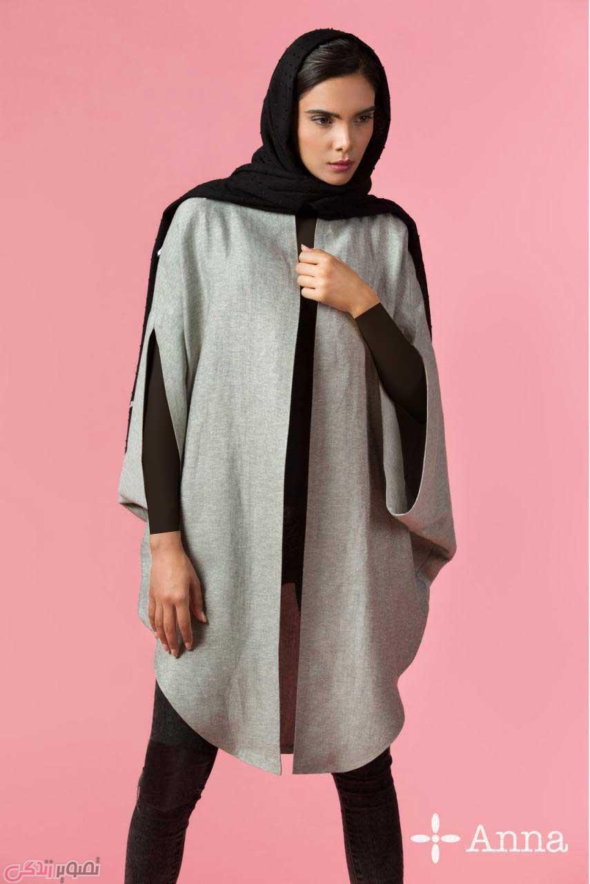 مدل مانتو زرد مشکی عکس مدل مانتو تابستانی جدید آنا ثانی | مانتو دخترانه 95 ...