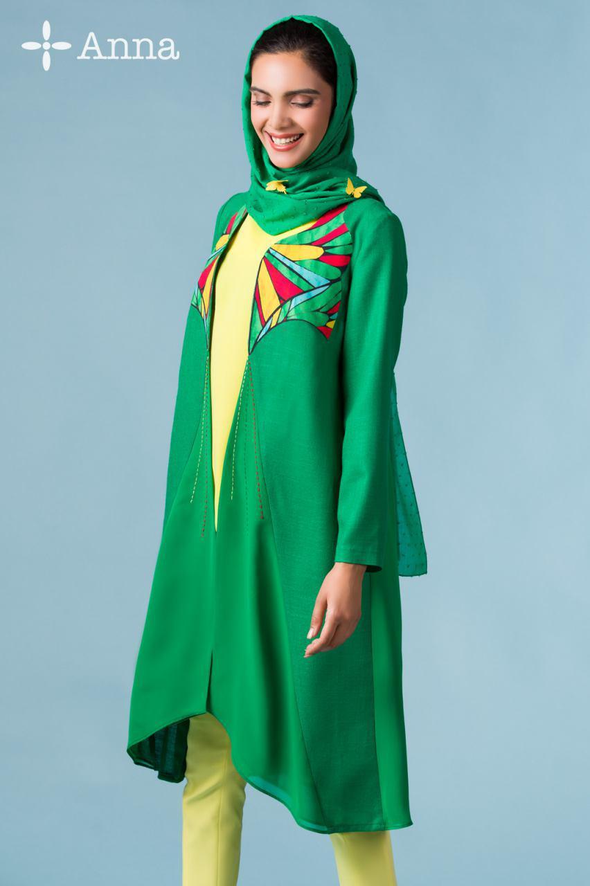 سایر مدل های مانتو  , عکس مدل مانتو تابستانی جدید آنا ثانی   مانتو دخترانه 95