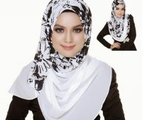 مدل شال و روسری 2016