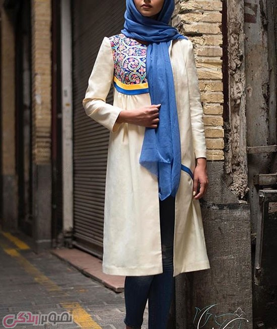 مدل مانتو دخترانه ,مانتو سنتی 95